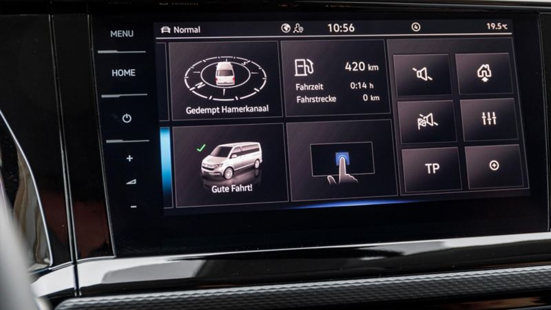Volkswagen Multivan display