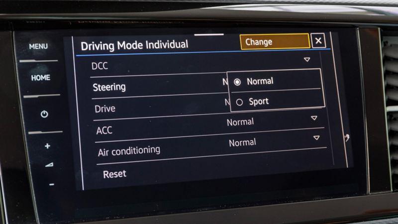Driving mode i nya Multivan T6.1
