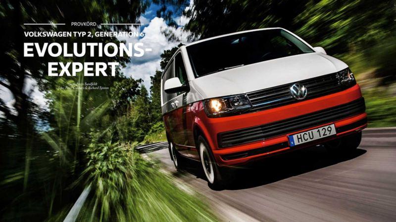 Volkswagen transportbilar - evolutionsexpert