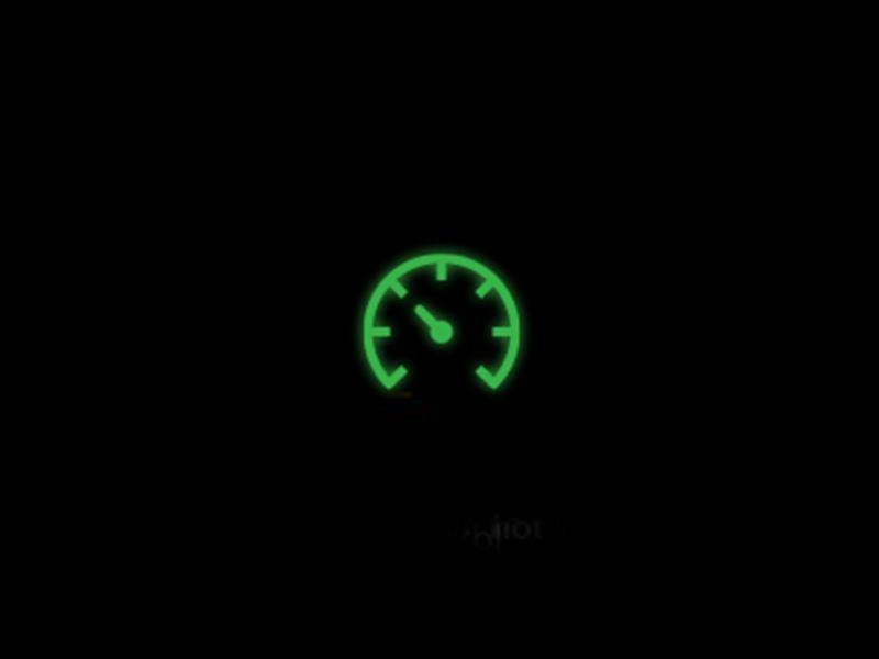 Green Adaptive Cruise Control warning light