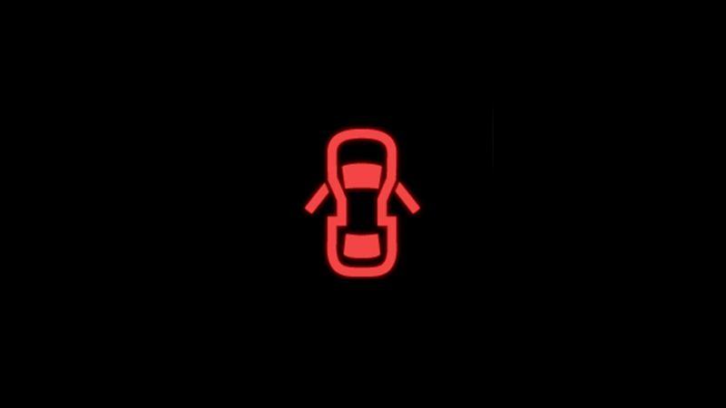 Red doors warning light