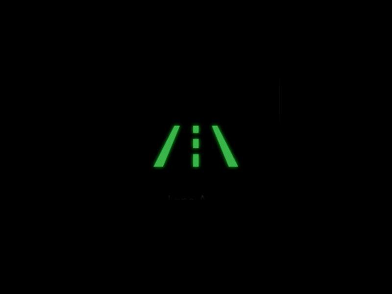 Green - Lane assist symbol