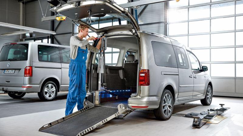 Nave de conversiones Vehículos Comerciales Volkswagen