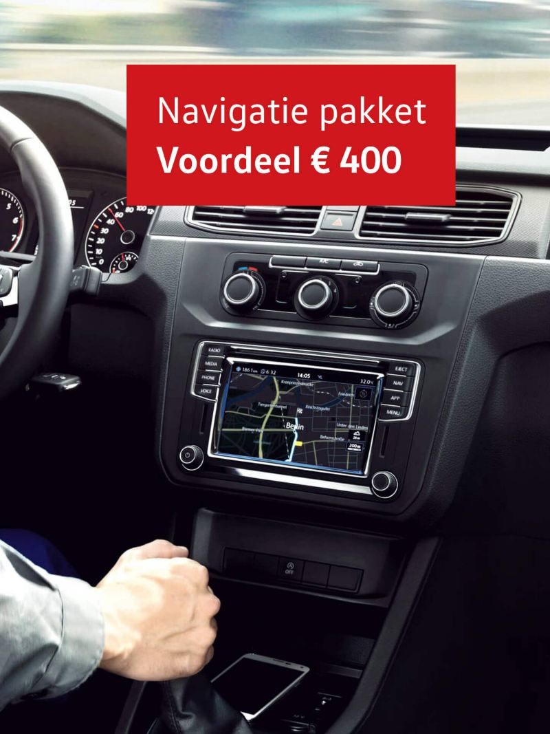 Navigatiepakket nu voor 695