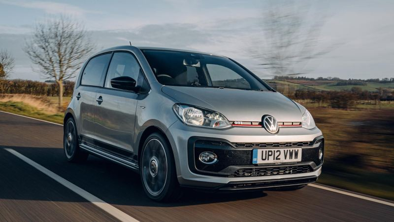 The Volkswagen up! GTi wins The Sunday Times Car of the Year