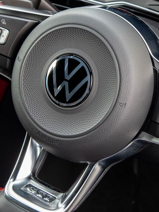 new logo polo gti steering wheel
