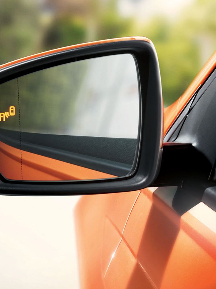 New Polo blind spot detection