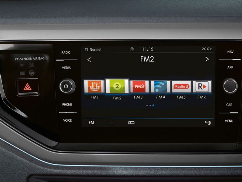 new polo infotainment