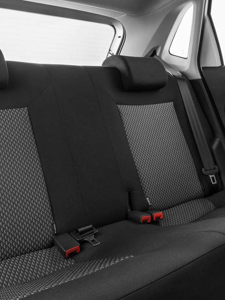 Polo Vivo back seats