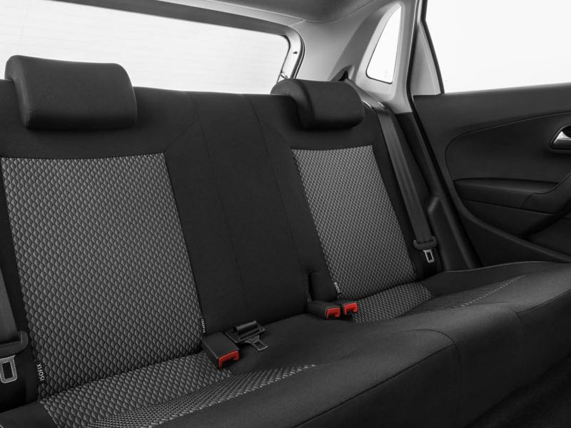 Polo Vivo back seats