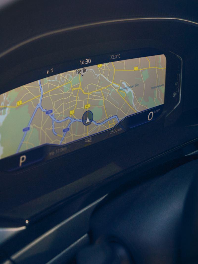 High-resolution navigation map