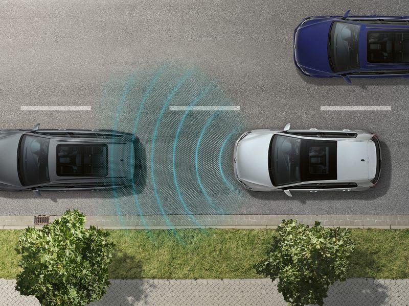 Front assist sensor