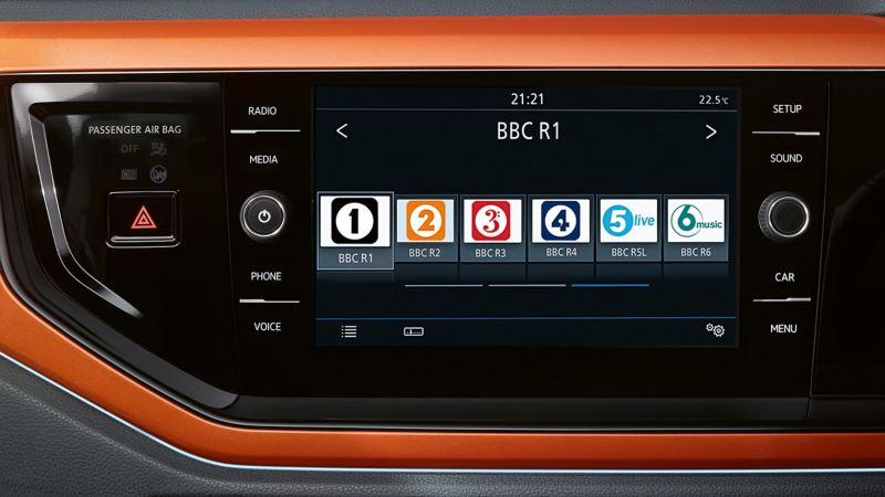 A car radio system