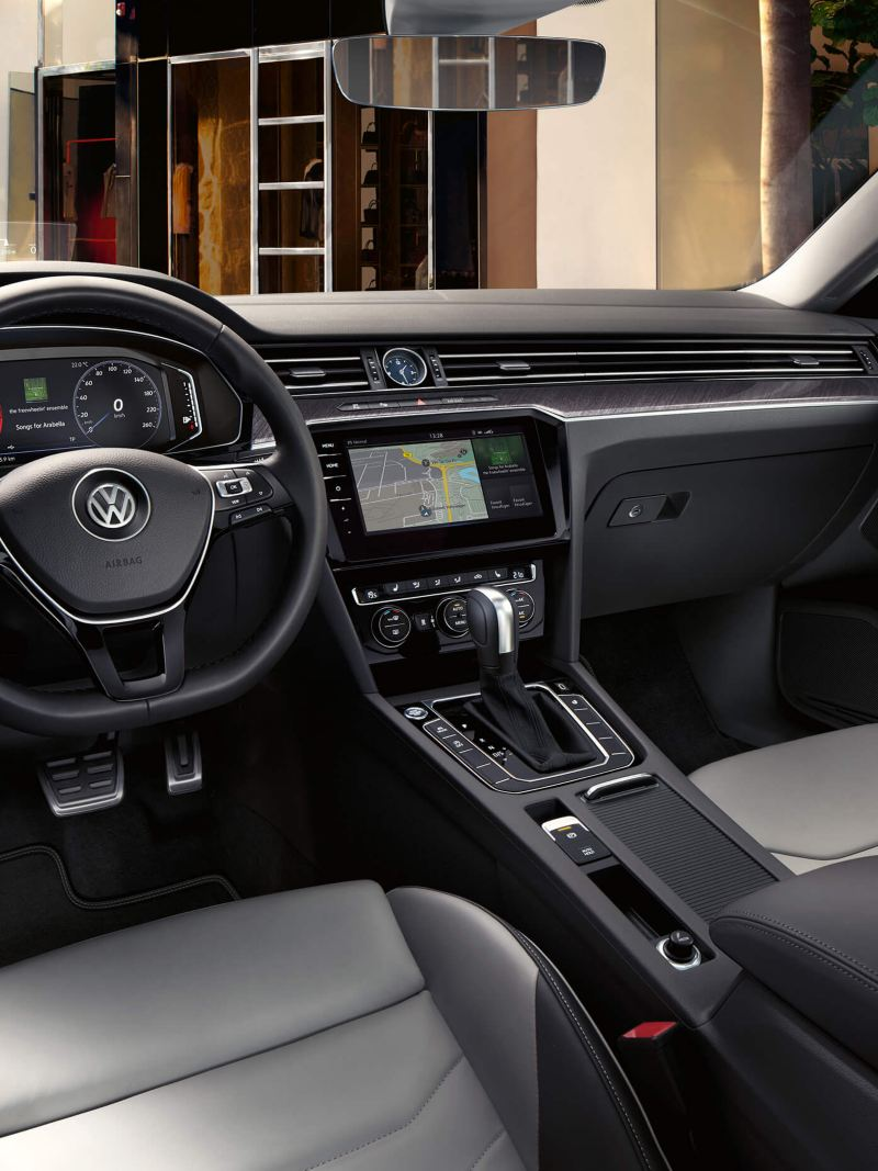 The interior of an Arteon R-Line Edition