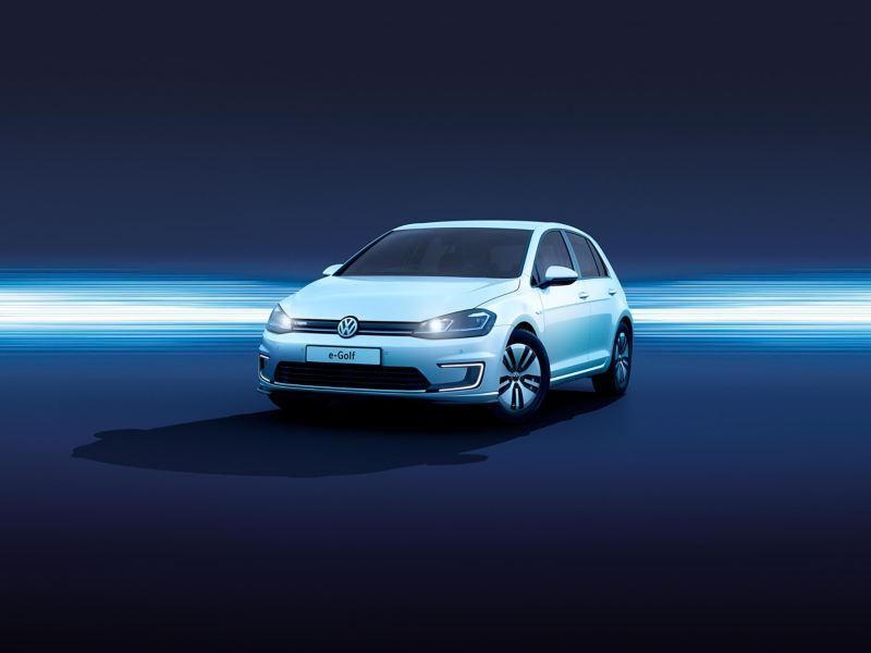 The Volkswagen e-Golf.