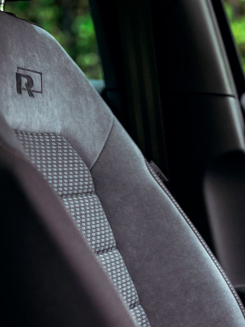 The seat within the golf R-Line