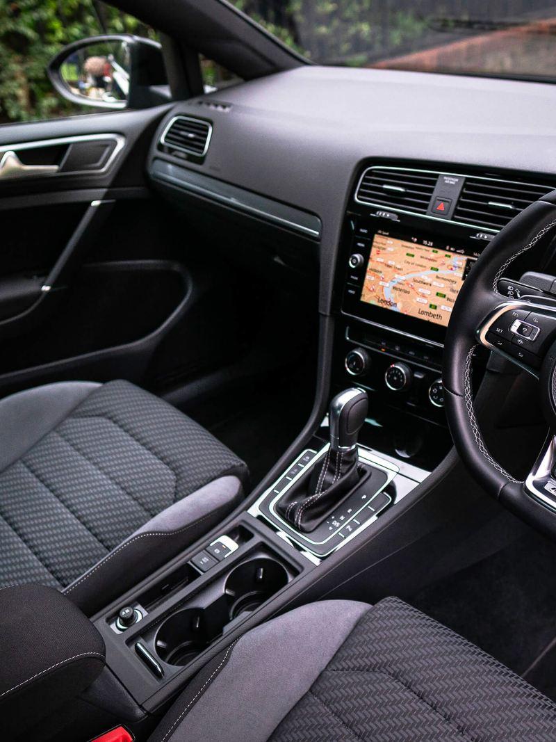 Golf interior seats