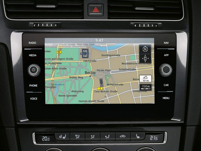Navigation screen.