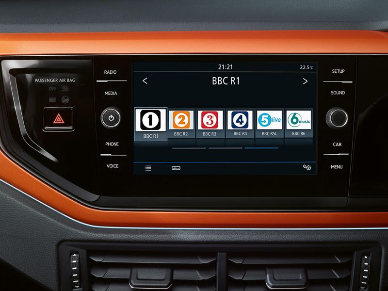 Composition media system in the Polo
