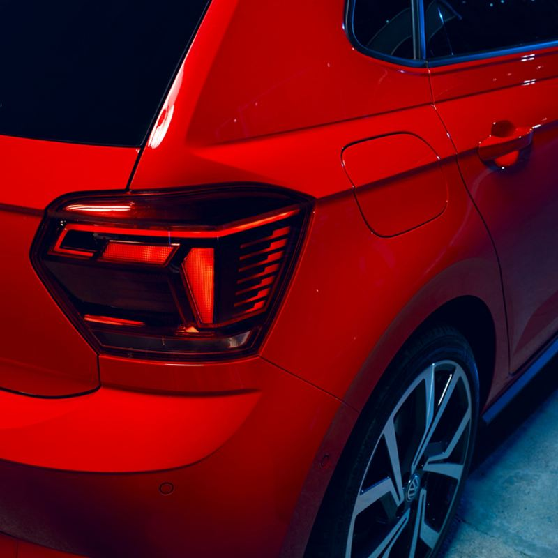Close up of the Volkswagen Polo GTI