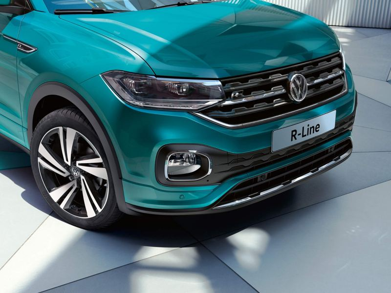 Close up of Volkswagen T-Cross