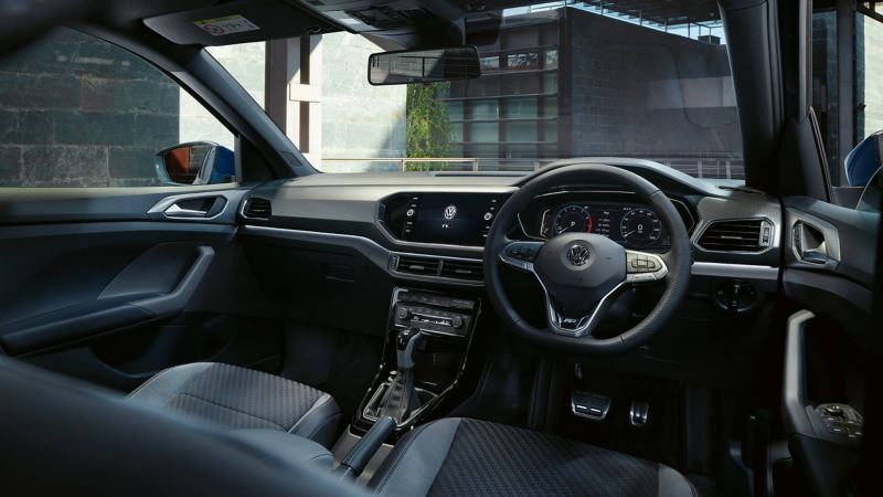 Shot of Volkswagen T-Cross interior