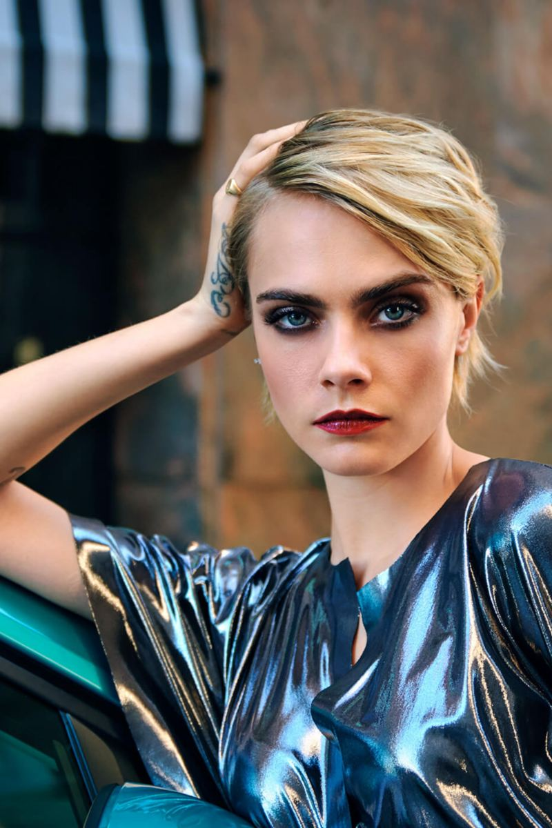 Shot of Cara Delevingne