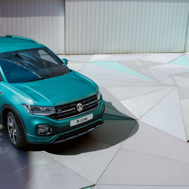 Shot of Volkswagen T-Cross R-Line