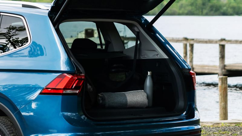 The spacious boot of the Volkswagen Tiguan Allspace