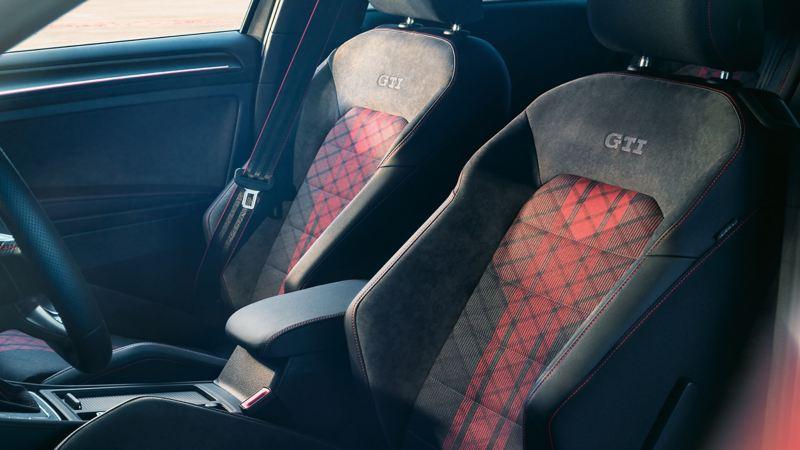 Interior of Golf GTI
