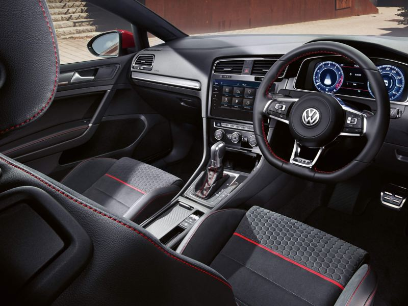 view of Golf GTI interior