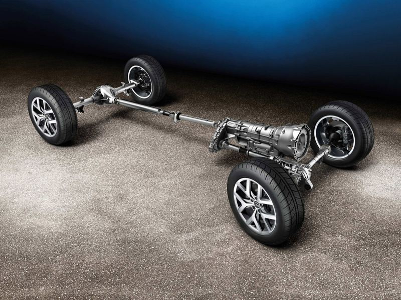 Amarok's 4MOTION all-wheel drive self-locking Torsen middle
