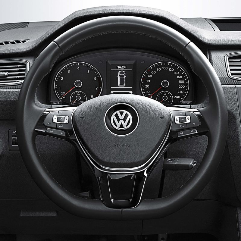 Caddy panel van multifunction steering wheel