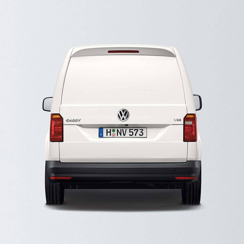 Caddy panel van with tailgate