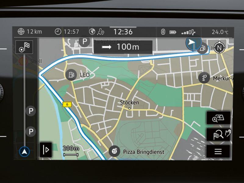 Volkswagen Discover Media infotainment unit