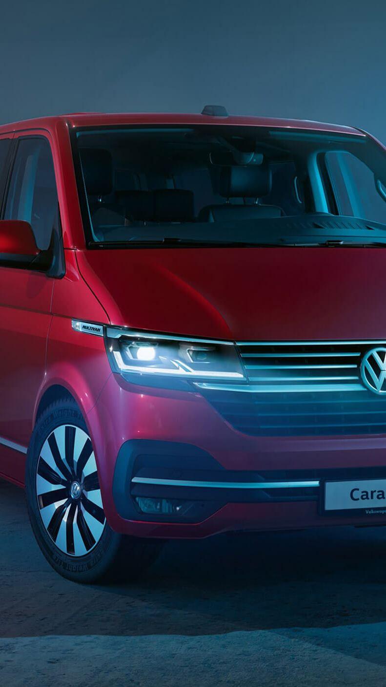new VW Caravelle T6.1