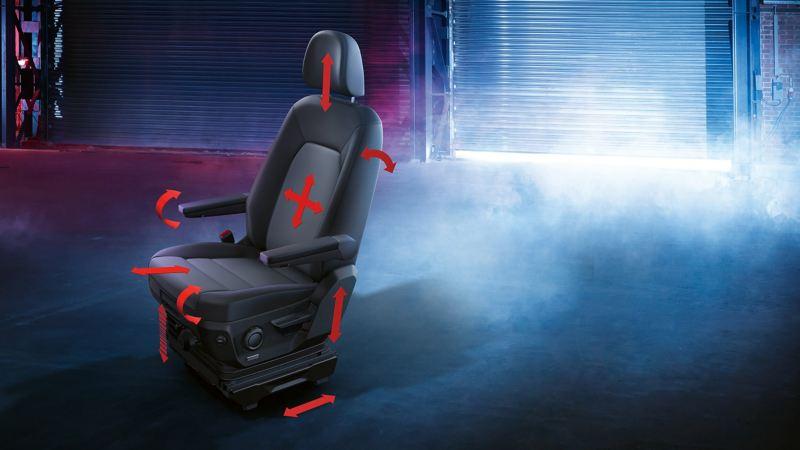 ergoComfort suspension seat