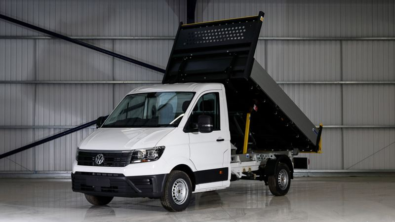 Front view of Crafter Tipper