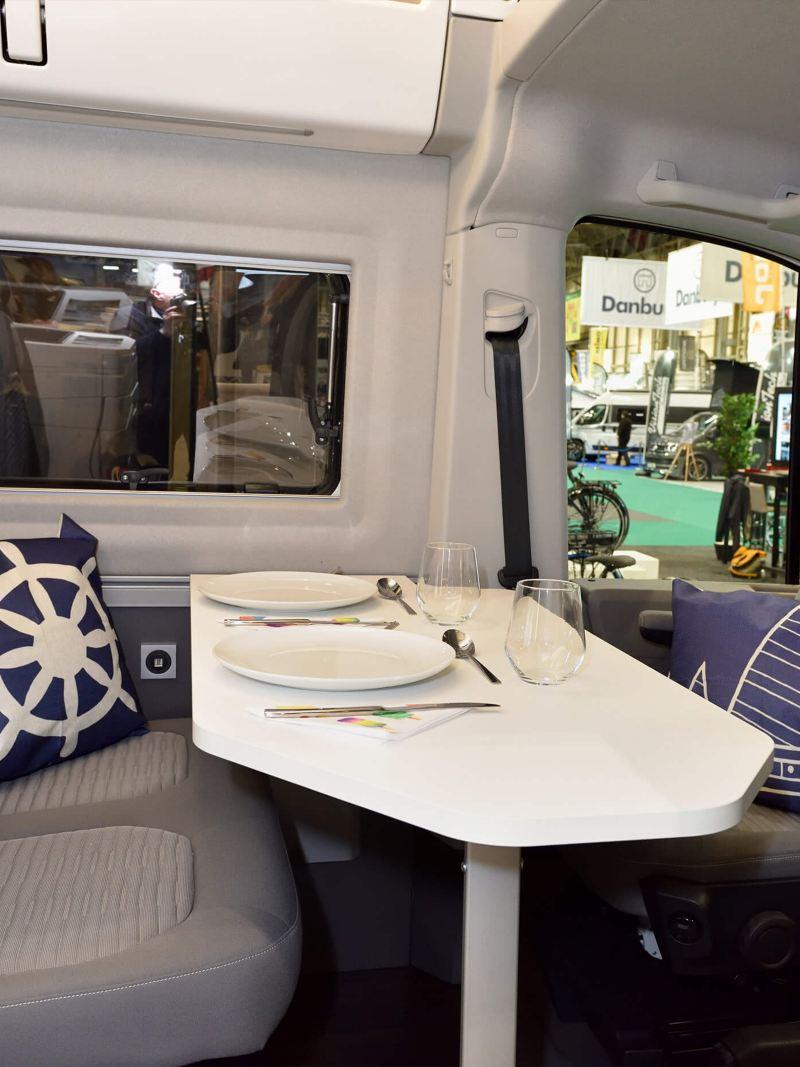 VW Grand California launch at Camping, Caravan and Motorhome Show 2019