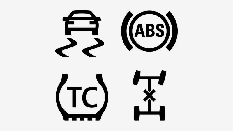 Collection of safety icons