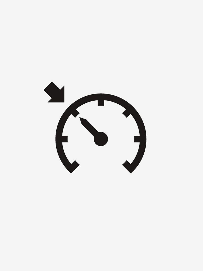 Cruise control dial icon