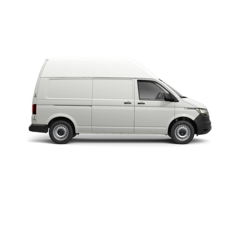 Long wheelbase Transporter 6.1 panel van with high roof