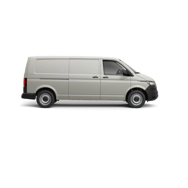Low roof long wheelbase VW Transporter T6.1 panel van