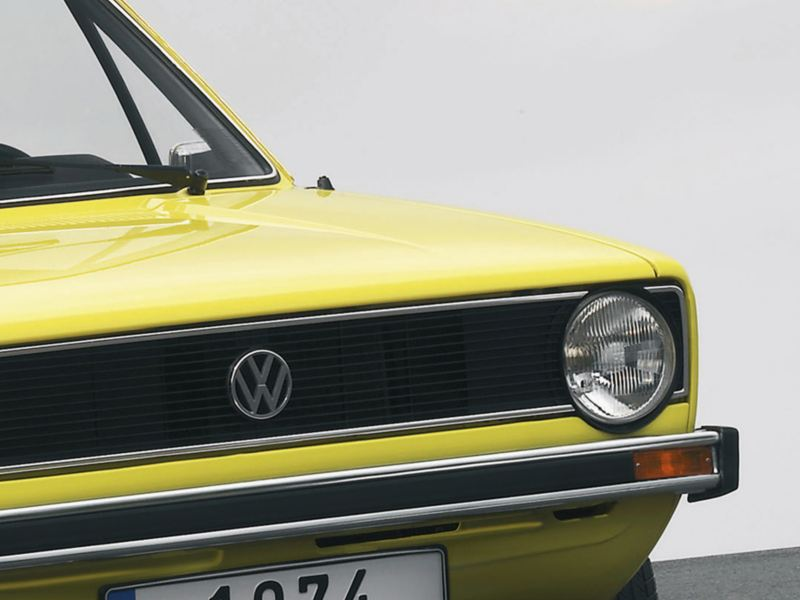 Original yellow Golf from the 70's