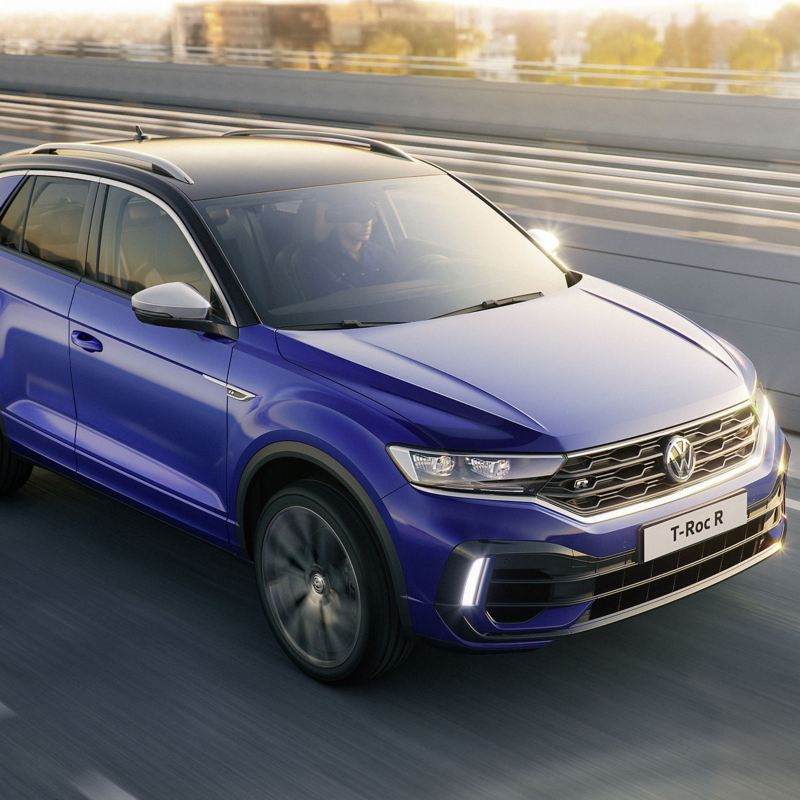 T-Roc R on the road