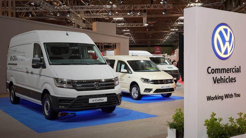 Volkswagen stand at CV Show 2019