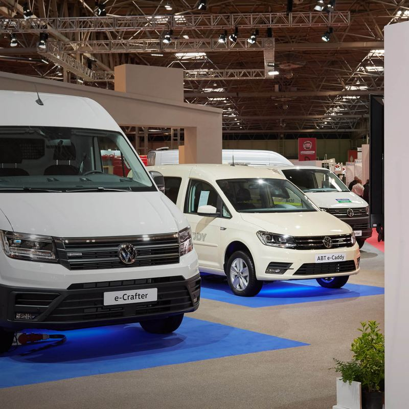 Volkswagen stand at CV Show 2019