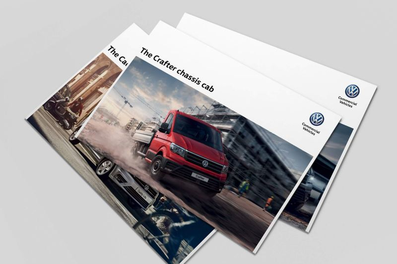 Example of a Volkswagen Commercial Vehicles brochure