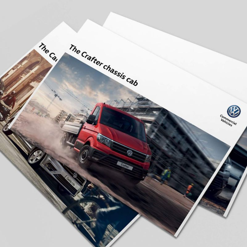 Example of a Volkswagen Commercial Vehicles brochure
