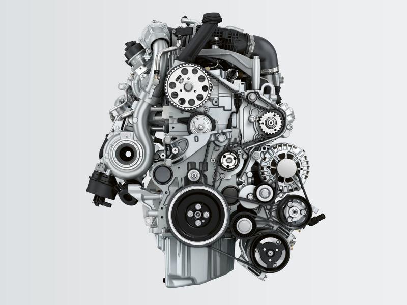 Ein ausgebauter Motor.
